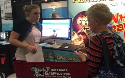 Professor Garfield Goes to ISTE, Begins Fall Agenda
